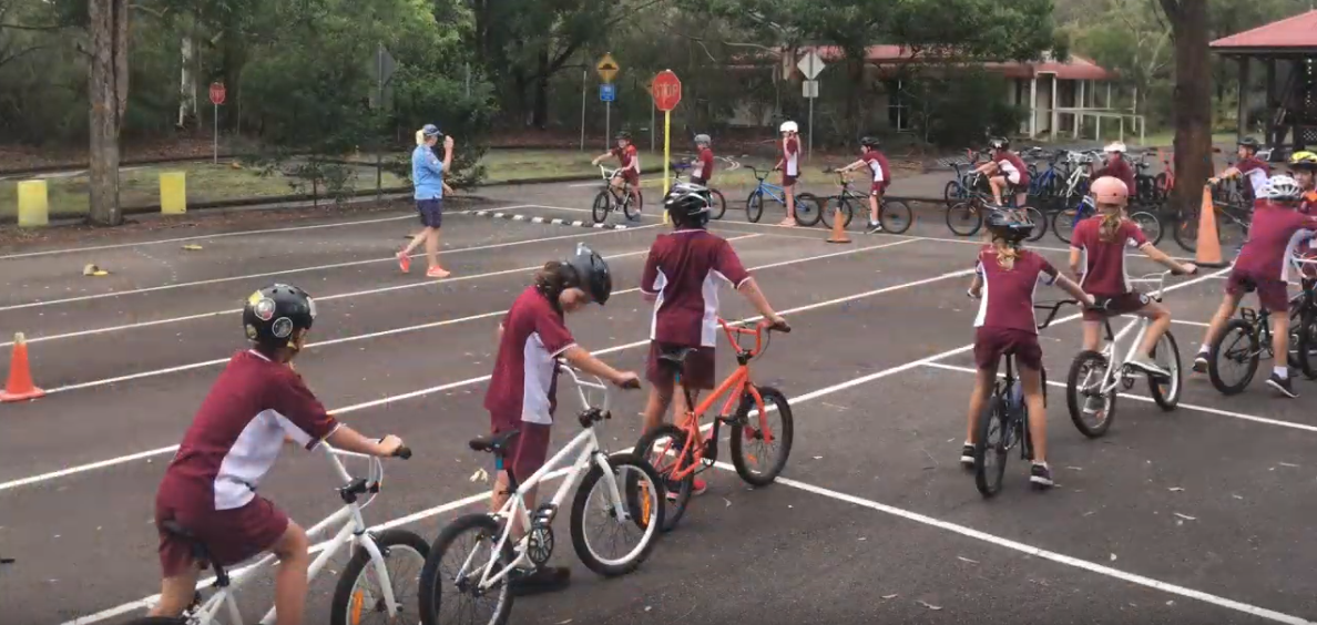Year 5 learn about bike and road safety - Forestville Public